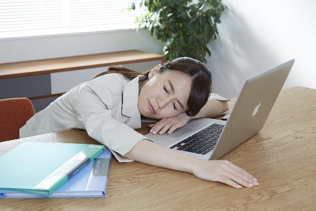 離脱症状の眠気