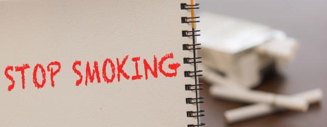 禁煙する or 喫煙所に行く