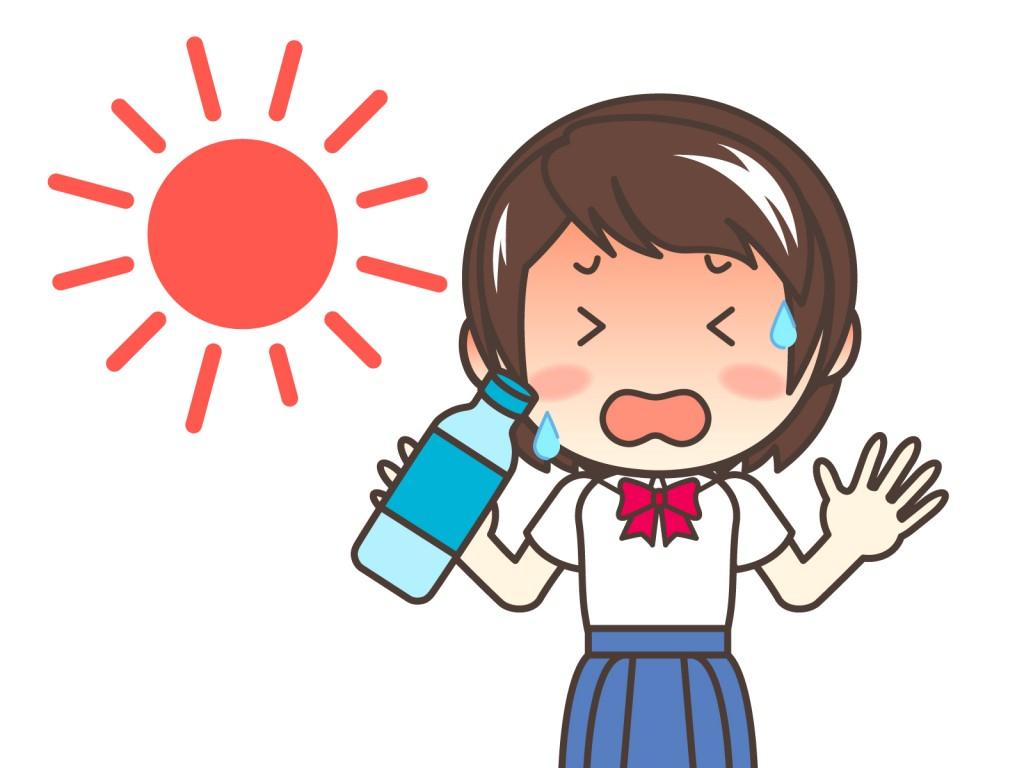 熱中症の症状が出る前に5つの対策