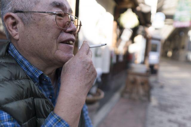 日本の喫煙率