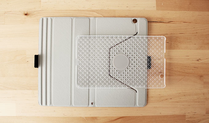 dtab Compact d-01jカバー360度回転