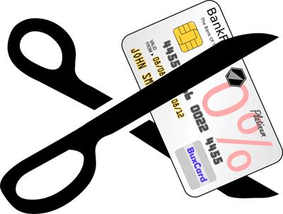 クレジットカードを使わない